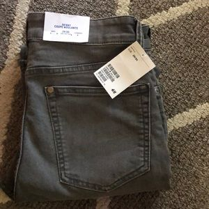 h&m skinny coupe pants